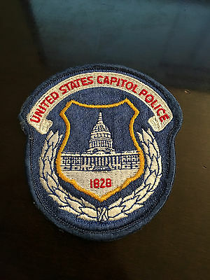 K1) United States US Capitol Police Department Washington DC Shoulder Patch