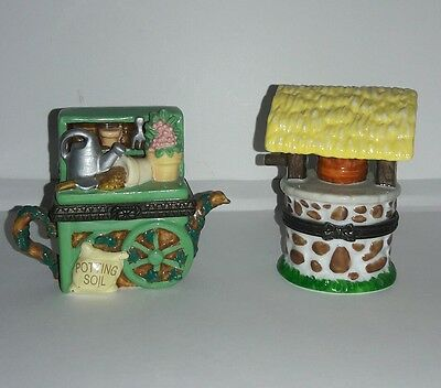 2 Midwest Trinket Boxes