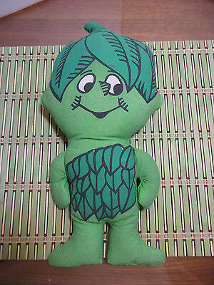 Little Sprout Printed Cloth Stuffed Doll, Jolly Green Giant