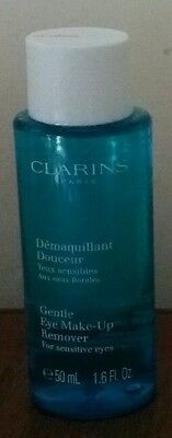 Clarins Gentle eye make up remover for sensitive eyes 50ml, New