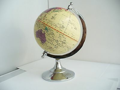 Vintage World Desk Top Globe .