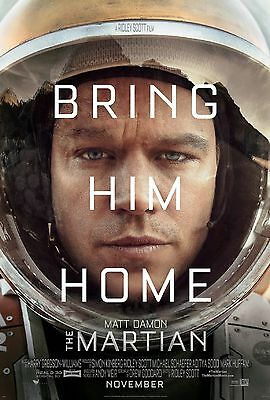 The Martian movie poster  A4 Size