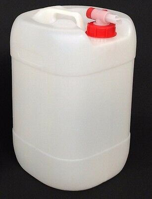 25L Litre Container & Airflow Tap Jerry Can Drum Bottle Water Camping 25Ltr New