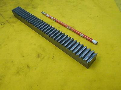"BOSTON GEAR RACK L517-4 10 pitch 14 1/2 PA steel 1"" x 1"" x 10 1/2"" OAL"