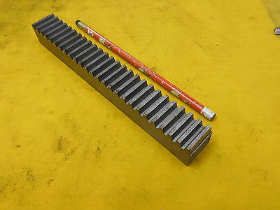 "BOSTON GEAR RACK L517-4 10 pitch 14 1/2 PA steel 1"" x 1"" x 8"" OAL"