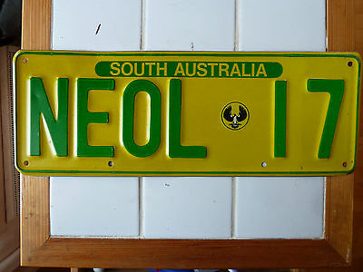 Vintage South Australia License Plate  #NEOL-17.......209G