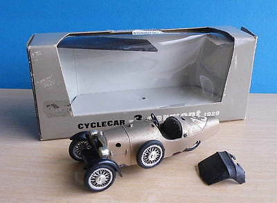 Boxed Vintage Diecast 1:43 scale Brumm TOYS - Cyclecar R3 Darmont 1929