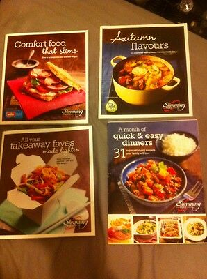 Slimming World Mini Recipe Books Comfort Food Takeaways Quick And Easy Dinners