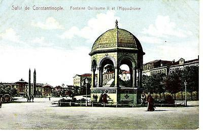 Istanbul - Constantinople : Fontaine Guillaume II & Hippodrome