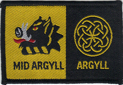 Mid Argyll/argyll Double District Scout Badge