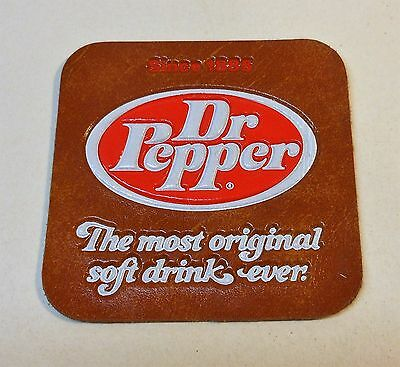 Vintage Dr Pepper Leather Patch