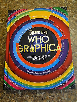 Doctor Who Hardback Book, Who Graphica An Infographic Guide