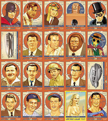 See You At the Fair 1939 NY World's Fair  Doc Savage Howard Hughes   card set
