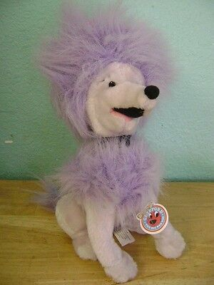 Clifford The Big Red Dog Cleo Purple Poodle
