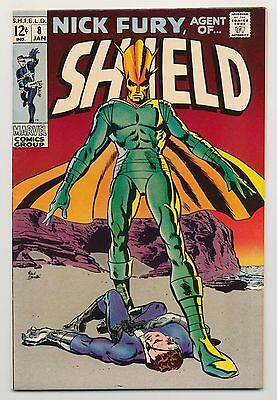 Nick Fury Agent of SHIELD #8 (1969) VF/NM (9.0) ~ Silver Age ~ Frank Springer