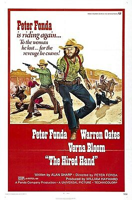 16mm Feature THE HIRED HAND-1971. Peter Fonda, rare 70s western.
