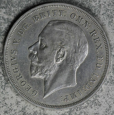 Nice 1935 Great Britain Silver Crown!