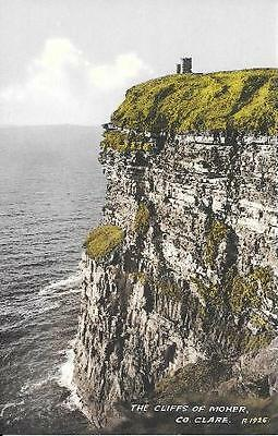 Vintage postcard Cliffs of Moher Co. Clare Ireland