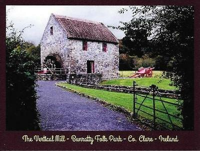 Postcard The Vertical Mill Bunratty Folk Park Co. Clare Ireland