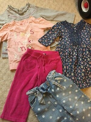 Bundle Of Girl Clothes 12-18 Months 1-1.5 Y