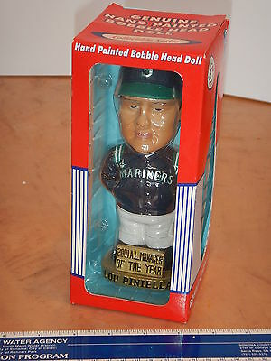 2001 Agp Lou Piniella Manager Of The Year Bobblehead Mariners  Nos