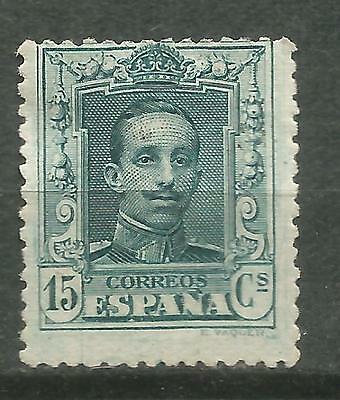 SPAIN Edifil # 315 (*) MNG Alfonso XIII Vaquer