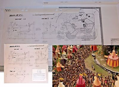 Narnia River Cliff (2005, LION WITCH & WARDROBE) LampPost production blueprint