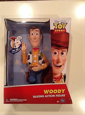 NEW Disney Toy Story Woody Talking Action Figure Pull String Pixar