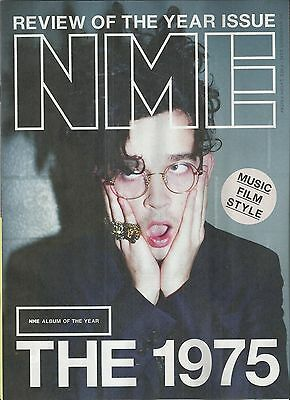 NME - November 2016 - Review of the year Issue - The 1975 Cover