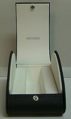 Genuine Movado Black and White Watch Box Only Missing Band