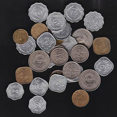 Paraguay, 33 minor coins, 1944-1988, most uncirculated