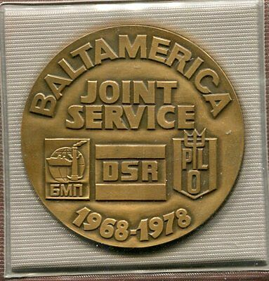 1978 Commemorative Medal for 10th Ann. of the Baltamerica Joint Service