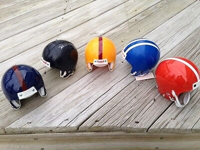 Collection Lot Of Five (5) Colors Riddell Throwback Style Football Mini Helmets