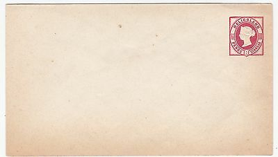 Heligoland 1 1/2 Pence Queen Victoria Mint Stationery Envelope