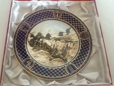Spode Operation Overlord D Day Commemorative Plate - Utah Beach