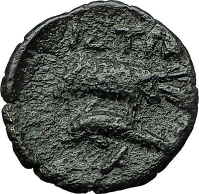 ISTROS in TRACE 4-3CenBC Apollo Sea Eagle Dolphin Ancient Greek Coin RARE i59363