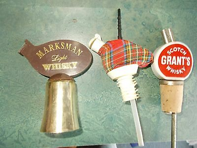 vintage whisky pourer, collectable , whisky , grants