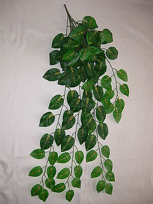 Garland Artificial Plant Foliage Flower  for snake vivarium 1M Length LJH