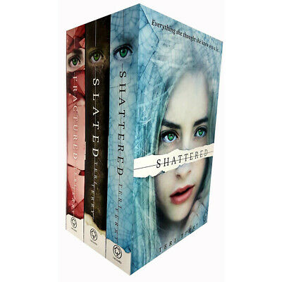 Slated Trilogy Series Collection By Teri Terry 3 Books Set Fractured, Shattered