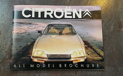 citroen small brochure