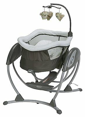 Graco Baby DreamGlider Gliding Swing Sleeper Glider Percy NEW