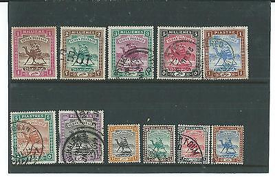 11 Used 1898/ 1902 Sudan Stamps