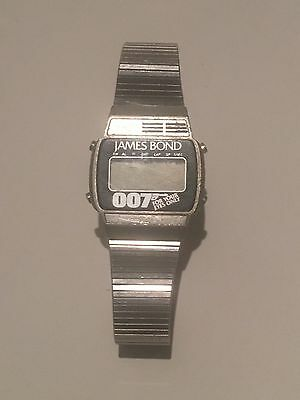 1981 James Bond - For Your Eyes Only Digital Watch