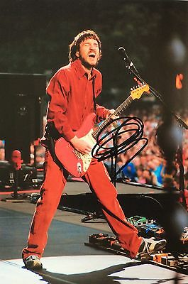 John Frusciante, Personally Hand Signed Photo + Certificate Of Authenticity