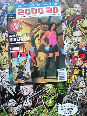 Classic 2000 Ad Prog No.1 With Trading Card Attached!