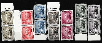 Luxembourg 1965-91 Pairs Mnh