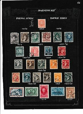 Collection 2 Pages Argentina Earlies M & U