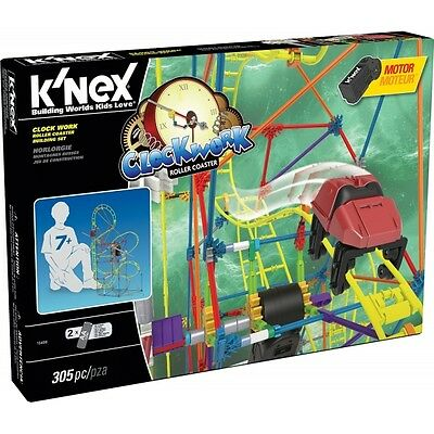 K'Nex Clock Work Roller Coaster Building Set Brand New