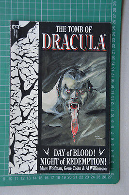 The Tomb Of Dracula Book 1 Graphic Novel