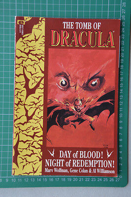 The Tomb Of Dracula Book 4 Graphic Novel